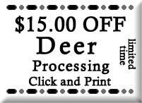 Rendon Meats Butcher, Meat Processor Coupon-Promotional Offers